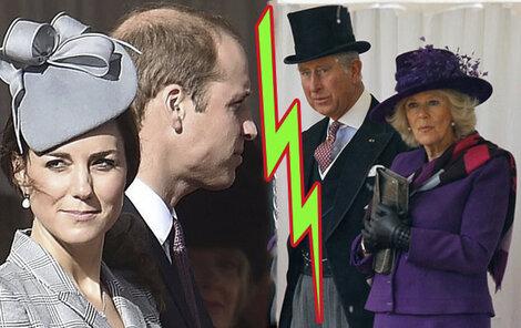 Camilla donutila Charlese zasáhnout, aby dítě nepojmenovali po Dianě. Mladí si z ní ale dost možná vystřelili.