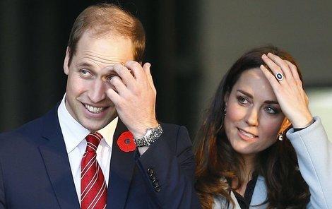 Mladí manželé jsou díky nastávající šťastné události středobodem veřejného zájmu Britů.