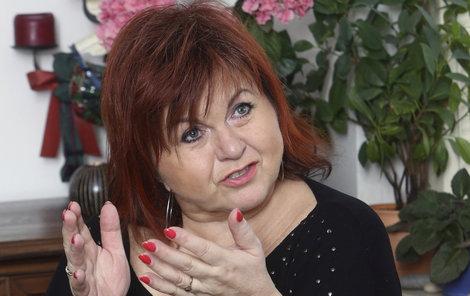 Zpěvačka Hana Křížková.