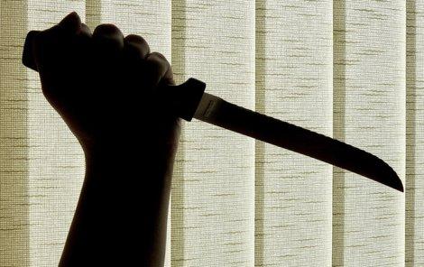 Během hádky vzal nůž do ruky a...