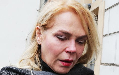 Herečka Dagmar Havlová musela odříct i představení v divadle.