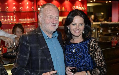 Manželé Adriena a Luděk Sobotovi spolu tvoří pár 34 let.