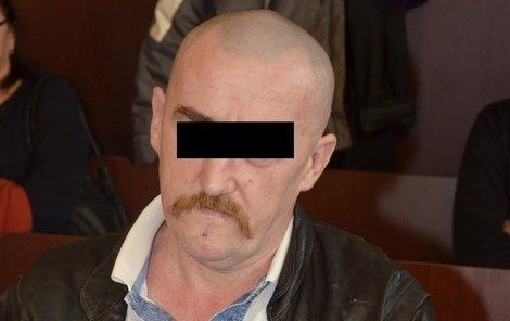 Václav S. včera u klatovského soudu