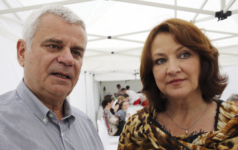 Zlata Adamovská a Petr Štěpánek se lépe poznali díky seriálu Ordinace v růžové zahradě.