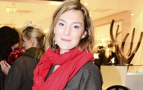 Herečka Lenka Krobotová (37)