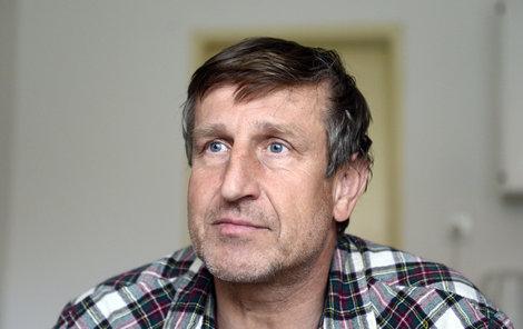 Herec Václav Vydra má doma problémy s jídlem.