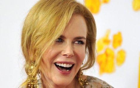 Herečka Nicole Kidman (50) má krásné a nekonečně dlouhé nohy, takhle je ale rozhodně ukázat nechtěla.