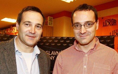 Pavel Zuna s bratrem Janem.