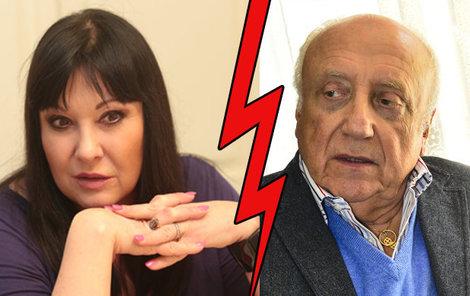 Manželská krize Slováčka a Patrasové měla být zažehnána na dovolené v Itálii. Slováček o to zřejmě ale moc nestojí...