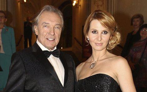 Ivana Gottová s manželem.