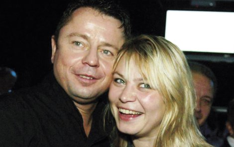 Michaela Klímková a Petr Muk v roce 2005.