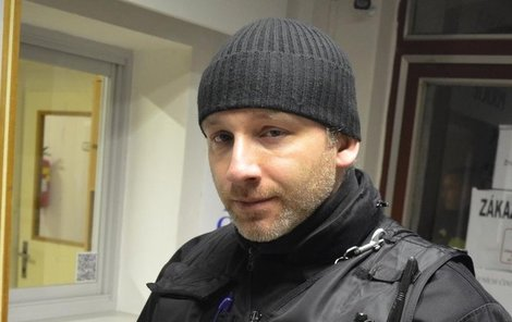 Ovdovělý strážník Martin David.