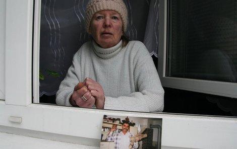Vdova Ludmila je zoufalá, Václav Jančařík byl láskou jejího života.