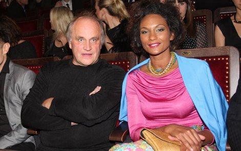 Michael Kocáb a Lejla Abbasová tvořili krásný pár.