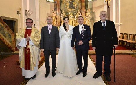 Svatební fotografie.