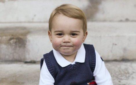 Malý George je miláčkem Britů.