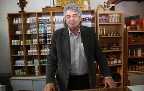 Léčitel a astrolog Emil Havelka