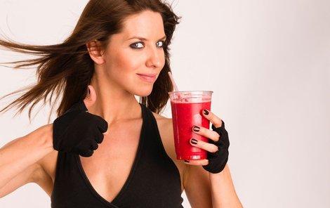 Domácí koktejly dodají energii.