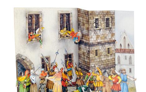 První pražská defenestrace v plném proudu