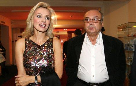 Kateřina Brožová se zesnulým Kovarčíkem.