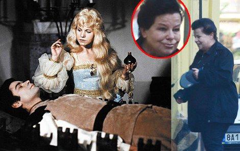 1973: Jorga jako nezapomenutelná filmová Zlatovláska.