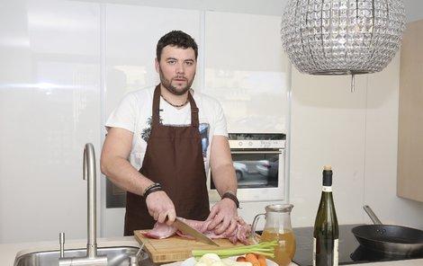 Michal, šéfkuchař Aha! pro ženy.