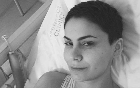 Problémy, kvůli kterým Erbová operaci podstoupila, ji trápily od mládí. Chirurgický zákrok byl nevyhnutelný.