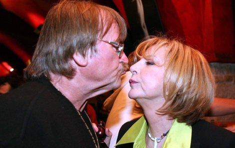 Hana Zagorová a Karel Vágner mají vřelý vztah dodnes.
