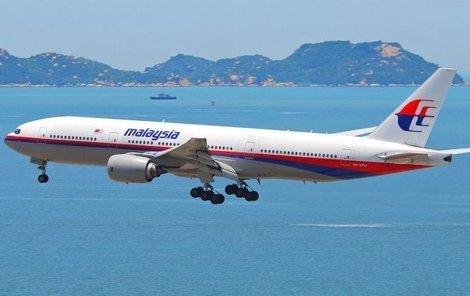 Stroj Malajsijských aerolinií se ztratil 8. března 2014 na cestě z Kuala Lumpur do Pekingu.