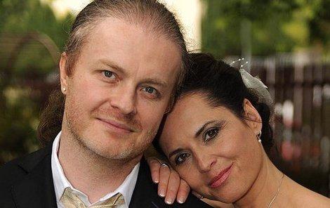 Bára Kodetová a Pavel Šporcl se vzali po 10 letech chození.