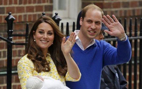 Kate už si na roli módní ikony zvykla, totéž čeká i malou Charlotte.