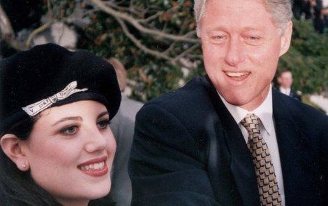 Lewinská byla Clintonovi vždy po boku.