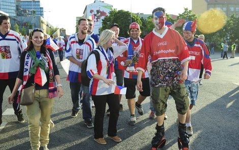 Češi vezmou znovu Bratislavu útokem