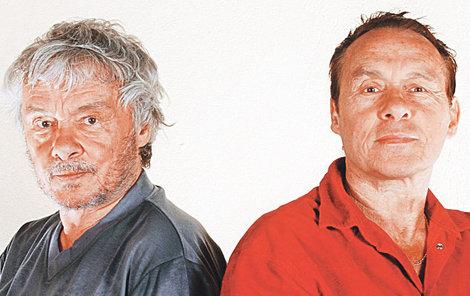 Dvojčata Kája (†80) a Jan (80)  Saudkovi