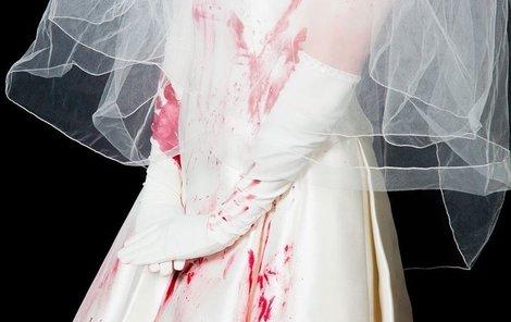 Hororová nevěsta v krvi (ilustrační foto)