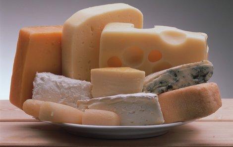 Vyberte si ten správný sýr!