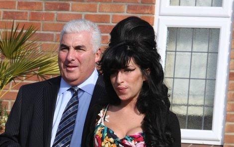 Amy Winehouse s otcem Mitchem.