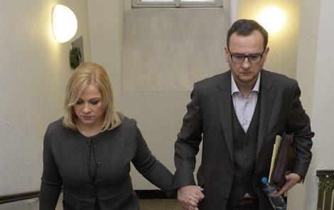 Společné dny na svobodě se Janě Nečasové (Nagyové) s jejím manželem možná krátí...