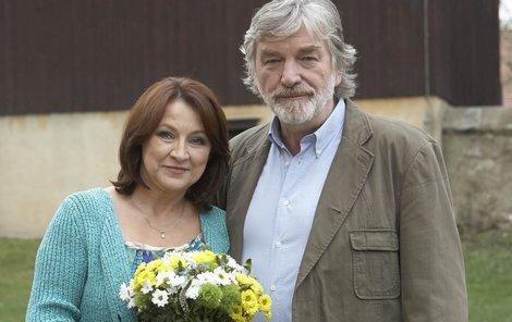 Diváci si přáli, aby k sobě seriáloví manželé Zlata Adamovská a Vladimír Kratina v Ordinaci znovu našli cestu.