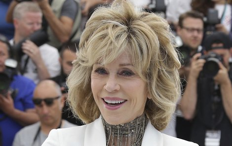 Majitelka dvou Oscarů Jane Fonda