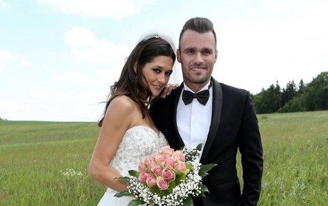 Šťastní alespoň před kamerou. Leoš s Petrou točili svou svatbu těsně po rozchodu!