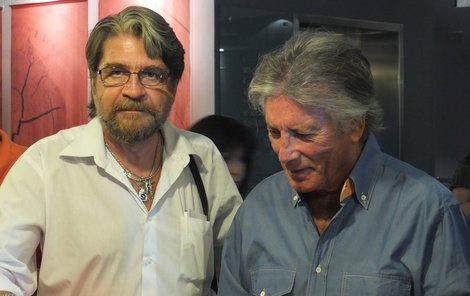 Jan Koten se svým hrdinou Pierrem Bricem.