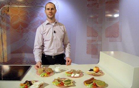 Výživový poradce Martin Škába.