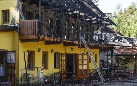 Požár napáchal škodu za 4,5 milionu.
