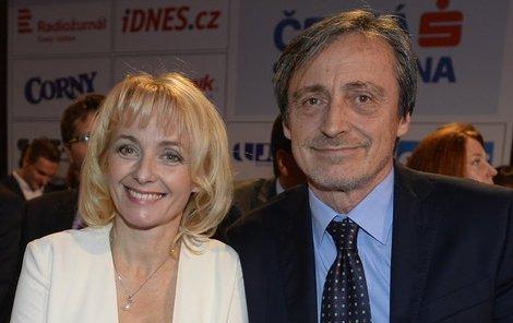 Veronika Žilková a Martin Stropnický