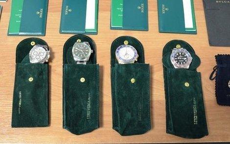 Pašované hodinky