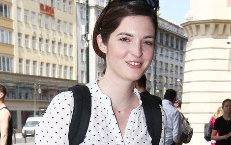 Kristýna Podzimková si zahrála například v oblíbené Ulici.