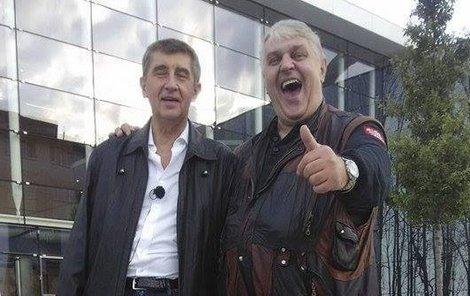 Andrej Babiš a Ivan Jonák