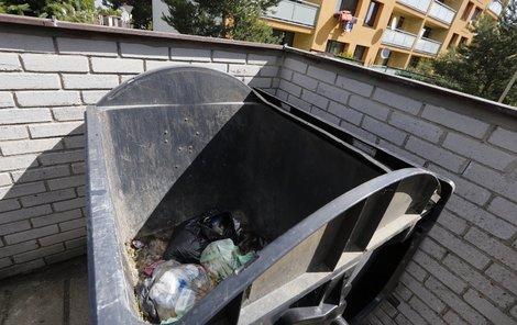 Miminko bylo zahrabané v odpadcích.