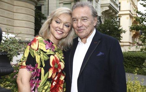 Dominika s otcem Karlem